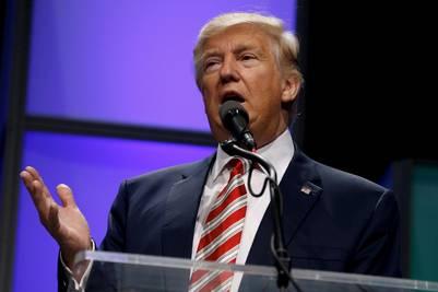 Donald Trump, durante la campaña presidencial (Reuter)