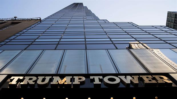 Trump Tower en la Quinta Avenida en New York