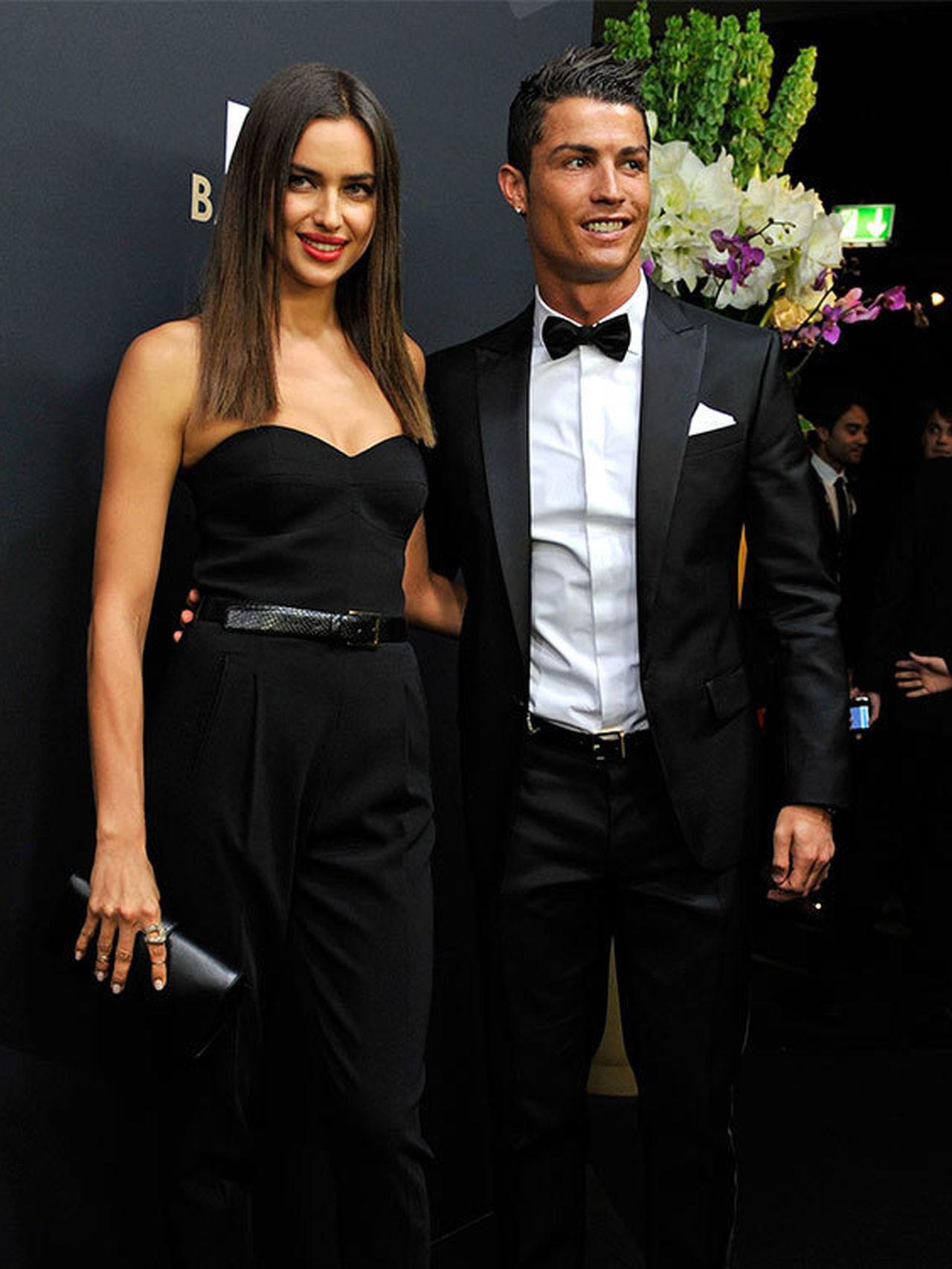 Irina Shayk es la única novia que ha reconocido el futbolista públicamente