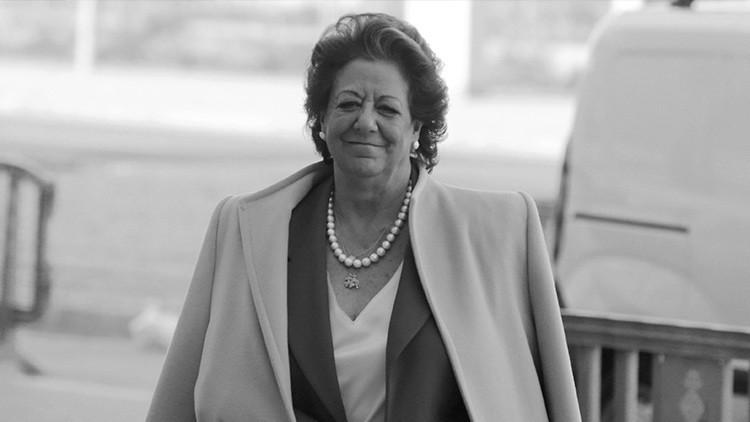 La senadora del Grupo Mixto y exalcaldesa de Valencia Rita Barberá