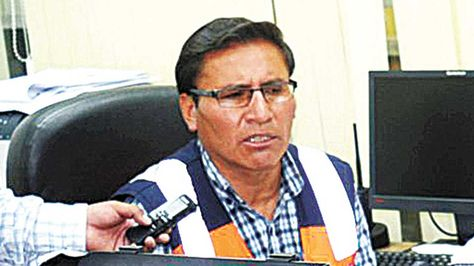 Roberto Rojas, exgerente regional de EPSAS El Alto