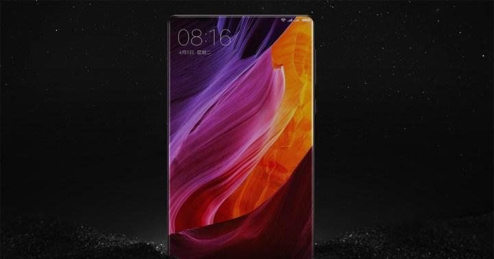 Xiaomi Mi Mix con pantalla de 6.44 pulgadas sin marcos