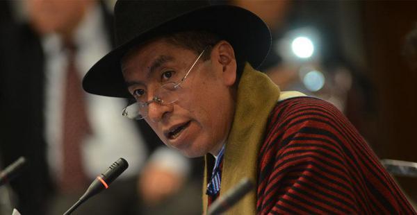 Gualberto Cusi, magistrado del TCP, será enjuiciado en el Senado