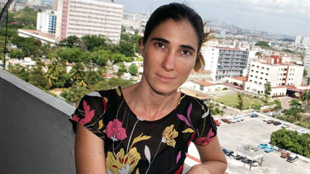 La periodista cubana Yoani Sánchez