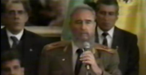 Fidel Castro en Bolivia
