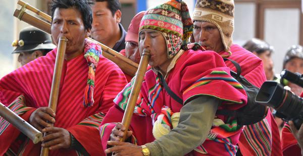 Morales recordó que en las áreas rurales realizar ceremonias para invocar la lluvia es habitual