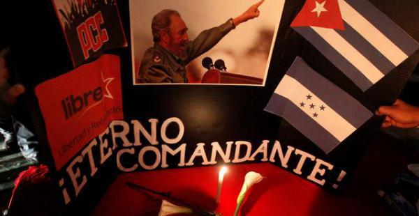 Los homenajes al fallecido líder cubano se reproducen en todo el mundo