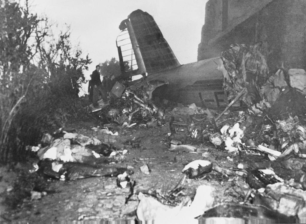 En la tragedia aérea de Superga murieron las 31 personas que iban en el avión, entre ellas todos los jugadores del Torino, considerado por muchos el mejor club de fútbol de ese momento. (Foto: Keystone/Hulton Getty Images)