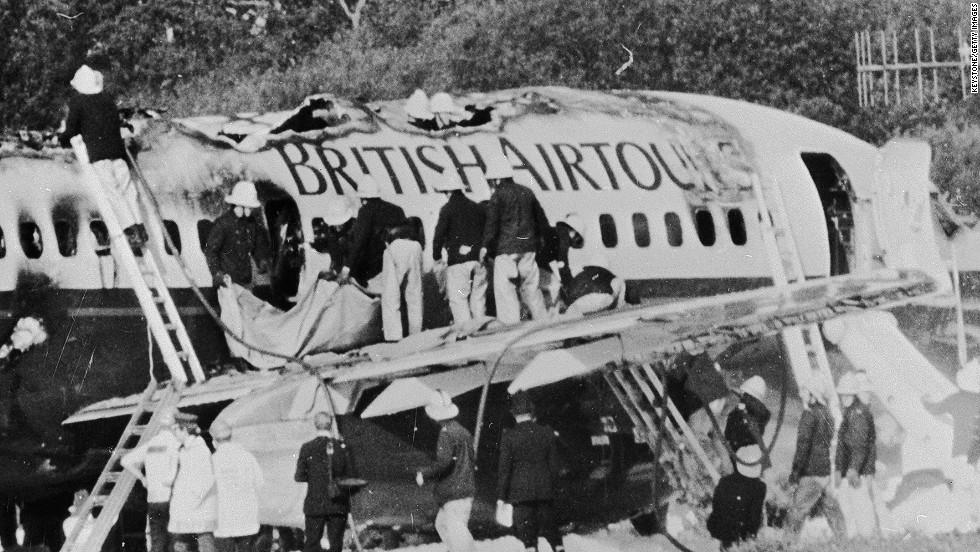 Este era el avión en el que se transportaba el Manchester United el 6 de febrero de 1958, cuando se estrelló en el aeropuerto de Múnich.