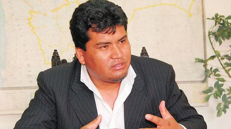El director del Servicio Departamental de Salud (Sedes) de Chuquisaca, Martín Maturano.