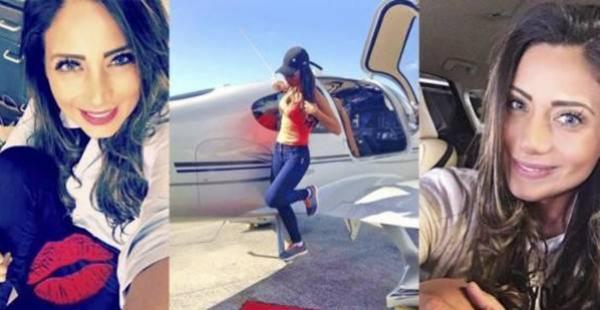 Sisy Arias era piloto comercial y aspiraba a trabajar en una aerolínea grande