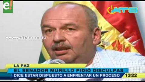 Murillo pidió disculpas por dichos racistas