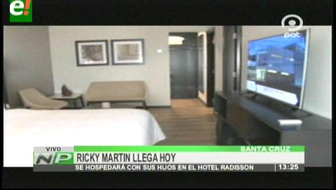 Aquí se hospedará el astro boricua Ricky Martin