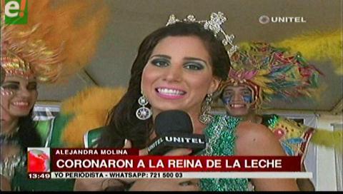 Warnes coronó a la Reina Nacional de la Leche 2016