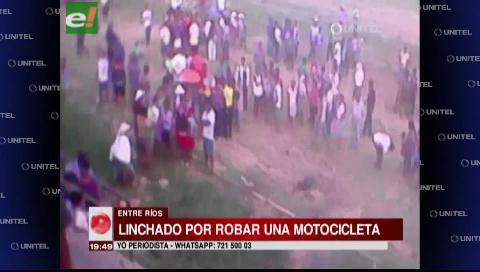 Pobladores de Entre Ríos agreden y queman vivo a supuesto ladrón de moto