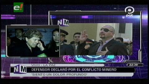 """Esposa de Rodolfo Illanes: """"A mi marido lo asesinaron y al defensor del Pueblo no le interesa"""""""
