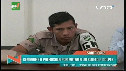 Acusado de lesiones seguida de muerte: Juez envía a gendarme a Palmasola