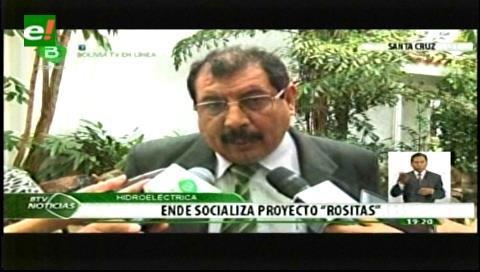 ENDE socializa proyecto Rositas con pobladores de Abapó