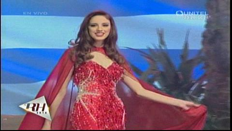 Reina Hispanoamericana 2016: Candidatas en traje de gala