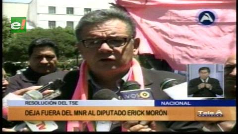 Luis Siles asume la jefatura del MNR y envían al Tribunal de Honor a Erick Morón