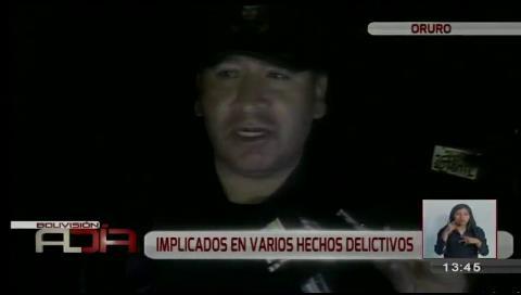 Oruro: Policía desbarató peligrosa banda internacional de delincuentes