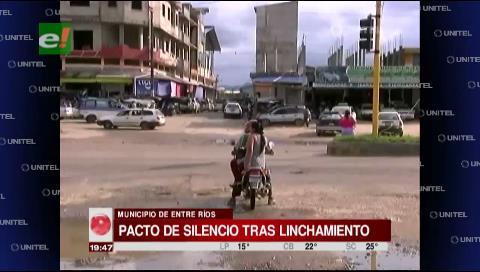 Pacto de silencio entre pobladores de Entre Ríos tras linchamiento