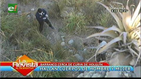 La Paz: Hallan dos cuerpos sin vida en un barranco cerca de la Curva de Holguín
