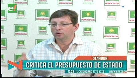 Ortiz: PGE 2017 recorta recursos para regiones y prioriza endeudamiento y gastos políticos
