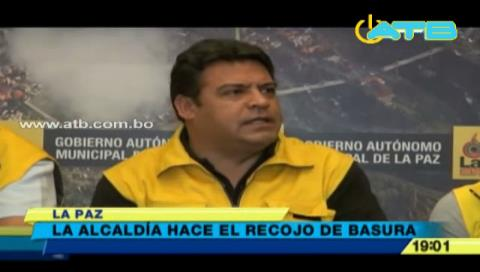 Alcaldía de La Paz pide a la población no sacar la basura a las calles