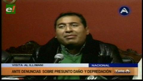 Oposición visitará el Illimani para verificar el presunto daño ambiental a la zona