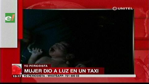 Santa Cruz: Mujer dio a luz en un taxi