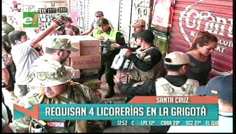 Operativo controla venta de bebidas en La Ramada