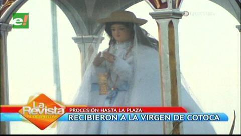 Santa Cruz: Mucha fe y devoción en el recibimiento a la Virgen de Cotoca