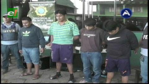 Exreclusos de El Abra robaban en Santa Cruz