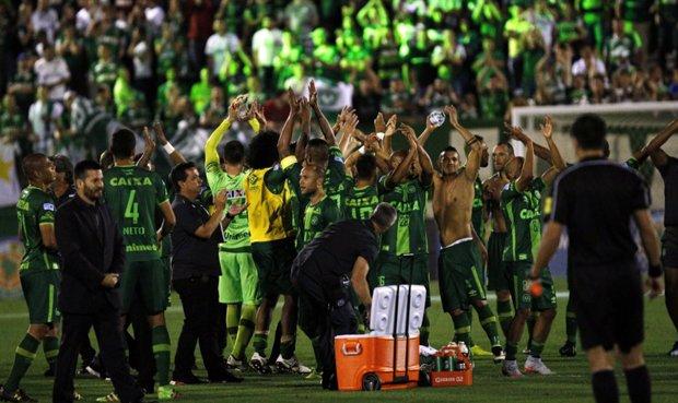 El Chapecoense recibirá un merecido homenaje del Atlético Nacional