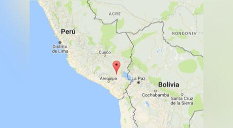 El movimiento sísmico en Puno, Perú. Foto: pp.pe