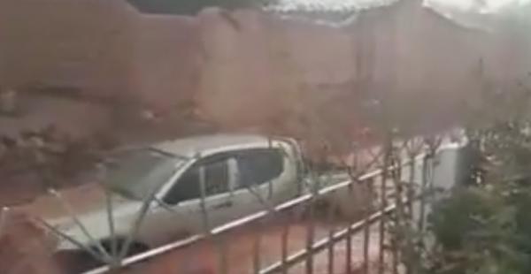 Lluvia en Camargo