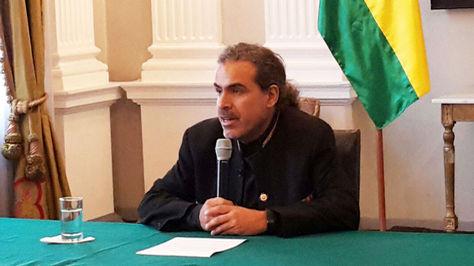 El vicecanciller Juan Carlos Alurralde