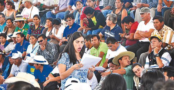Gabriela Montaño, presidenta de Diputados, estuvo ayer en la comisión política