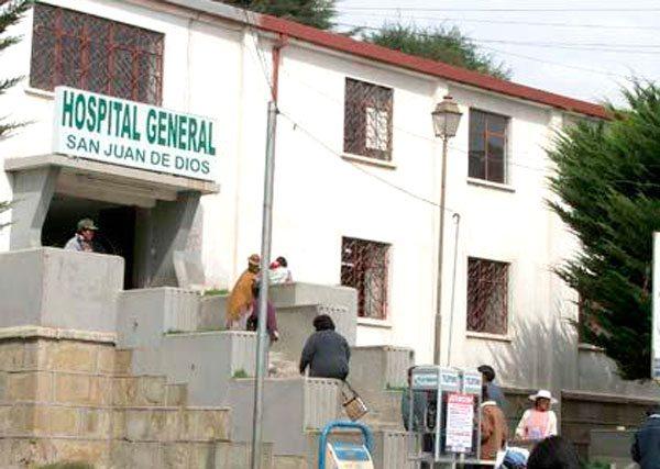 Resultado de imagen para hospital general de oruro