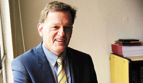 El Embajador de Suiza, Roger Denzer. Foto: Alejandra Rocabado
