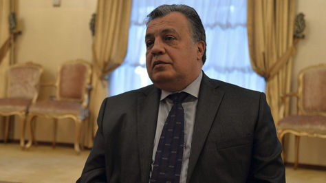 El embajador ruso en Turquía, Andréi Karlov.