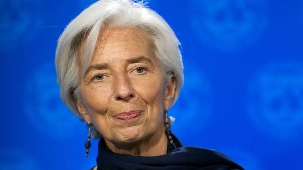 Christine Lagarde, jefa del FMI.