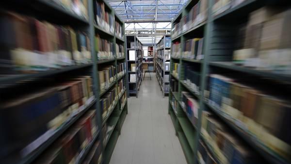 Biblioteca. Un algoritmo halló que las novelas se ajustan sólo a seis modelos. AFP / Archivo Clarín.