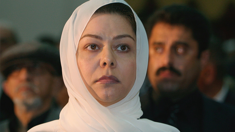 Raghad Saddam Hussein, hija de Saddam Hussein, asiste a un acto conmemorativo con motivo del 40º día de la muerte de su padre, el 7 de febrero de 2007