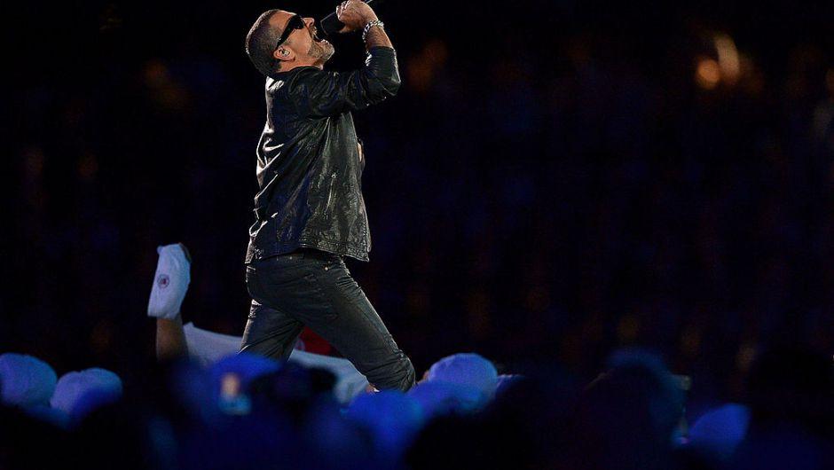 Michael se presentó durante la ceremonia de clausura de los Juegos Olímpicos de Londres en 2012 (Jeff J Mitchell/Getty Images)
