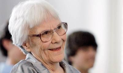 La escritora estadounidense Harper Lee