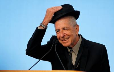 El músico Leonard Cohen