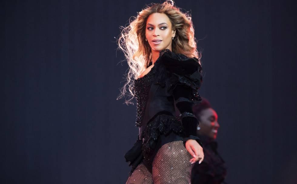 Beyoncé en una actuación en París, el pasado 21 de julio, en su gira Formation World Tour.