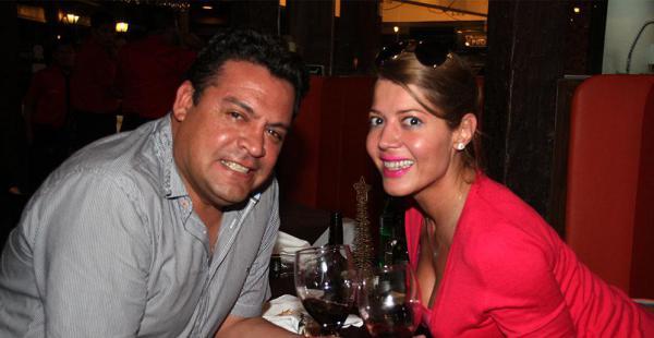 Luis Revilla y Maricruz Ribera están en Santa Cruz